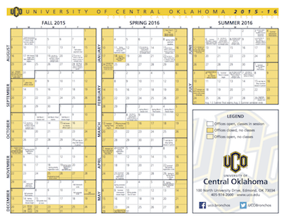 Uco Academic Calendar.Centralities For Tuesday July 28 2015