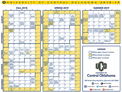 Uco Academic Calendar.Centralities For Tuesday July 31 2018